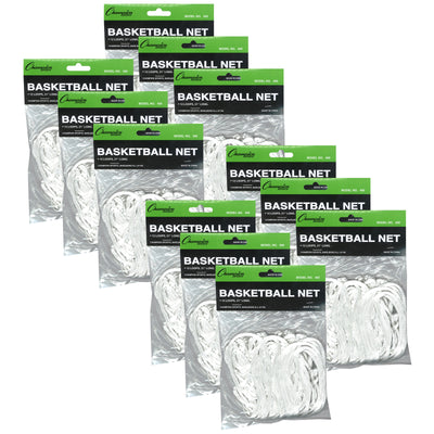 (12 Ea) Basketball Net Standard Indoor-outdoor