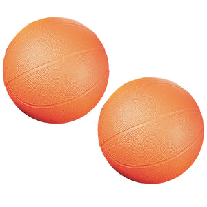 (2 Ea) Coated High Density Foam Basketball Size 3