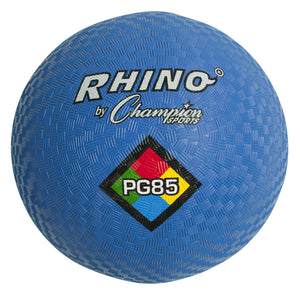 (3 Ea) Playground Ball 8 1-2in Blue