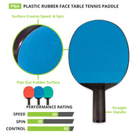 Table Tennis Paddle Rubber Plastic
