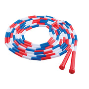 Plastic Segmented Ropes 16ft Red White & Blue