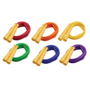 (6 Ea) Licorice Speed Rope 8ft Yellow Handle - Student Spotlight