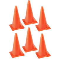 (6 Ea) Safety Cone 15in High