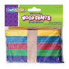 (12 Pk) Jumbo Craft Sticks 6x.75 100 Per Pk Bright Hues