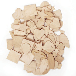 Wooden Shapes 1000 Pieces