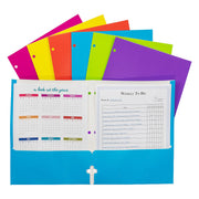 2 Pocket Laminated Paper Portfolios
