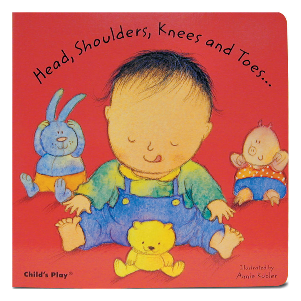 Head Shoulders Knees And Toes Board Book