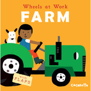 Wheels At Work Board Books Farm
