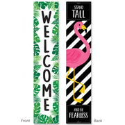 Palm Paradise Welcome Banner Double-sided - Student Spotlight