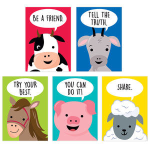 Farm Friends Inspire U 5poster Pack