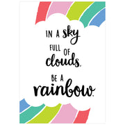 In A Sky Full Of Clouds Poster - Student Spotlight