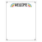 Rainbow Doodles Welcome Chart - Student Spotlight