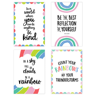 Rainbow Doodles 4 Poster Pack - Student Spotlight