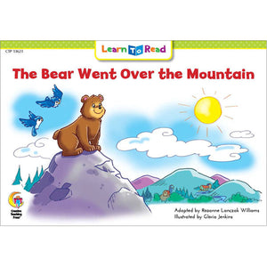 The Bear Went Over Mountain Learn To Read