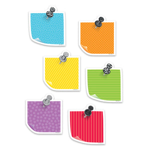 (6 Pk) 3in Bold Bright Sticky Notes Cutout