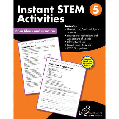Gr5 Instant Activities Workbook Stem - Student Spotlight