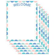 (6 Ea) Calm & Cool Welcome Chart