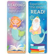 (6 Pk) Mystical Mermaid Tales Bookmarks