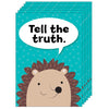 (6 Ea) Tell The Truth Woodland Friends Inspire U Poster