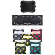 Chalk It Up Name Plate Label Pockets Combo Set
