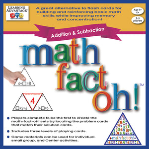 Math Fact Oh Addition & Subtraction - Student Spotlight