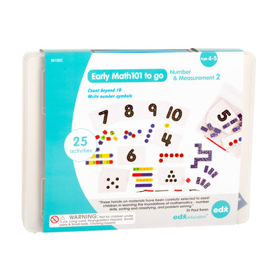 Early Math101 To Go Number & Measurement In Home Learning Kit - Student Spotlight