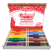 Colored Pencil Class Pack 10 Color 250 Ct Box