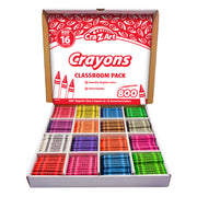 Crayon Classroom Pack 16 Color 800 Count Box