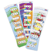 (3 Ea) Unifix Word Ladders Cvc Words