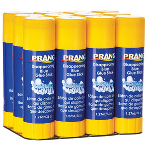 (6 Ea) Prang Glue Stick Large Prple 1.27oz