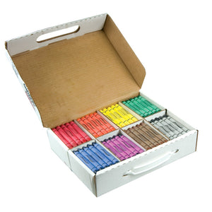 Prang Crayons Large Master Pack 25 Each Of 8 Colors