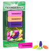 Eraser Combo Set Neon 3 Beveled 12 Wedge Cap