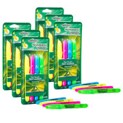 (6 Pk) Highlighters Desk Style 4 Colors Chisel Tip