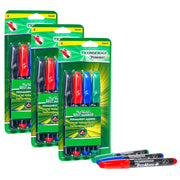 (3 St) Chisel Tip Permanent Markers 4st Ticonderoga Redimark