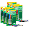 (6 St) Fine Point Permanent Markers 4st Ticonderoga Redisharp