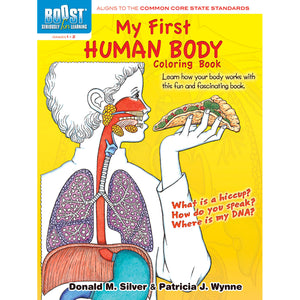 Boost My First Human Body Coloring Book Gr 1-2
