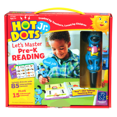 Hot Dots Jr Lets Master Reading Gr Pk
