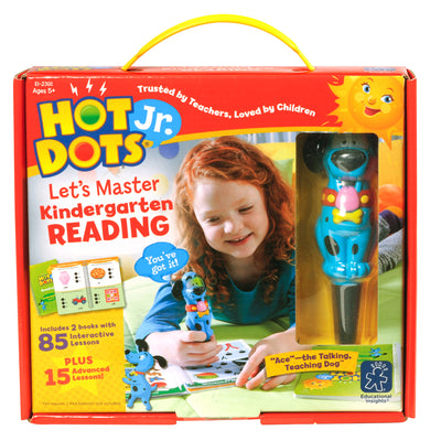 Hot Dots Jr Lets Master Reading Gr K