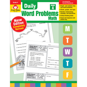 Daily Word Problems Math Grade 4