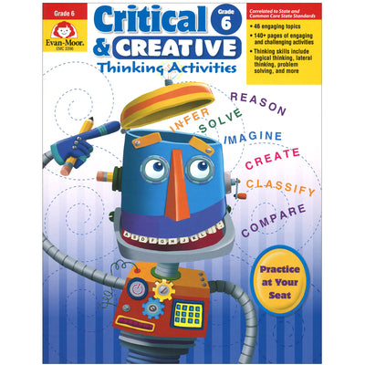 Critical And Creative Thinking Activities Gr 6