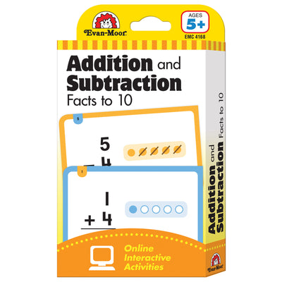 (6 Pk) Flashcard Set Addition And Subtraction Fact To 10