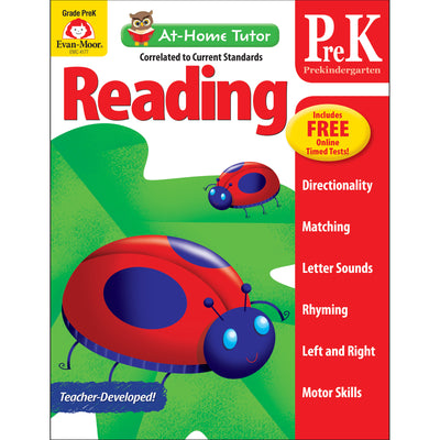 (3 Ea) Home Tutor Reading Pre K The Alphabet