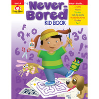 (2 Ea) Never Bored Book Ages 5-6