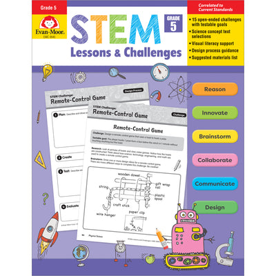 (2 Ea) Stem Lessons & Challenges Grade 5