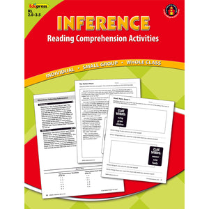 Inference Comprehension Book Red Level
