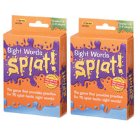 (2 Ea) Sight Words Splat Gr 1-2
