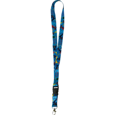 Pete The Cat Lanyard