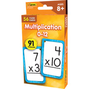 Multiplicaion 0-12 Flash Cards