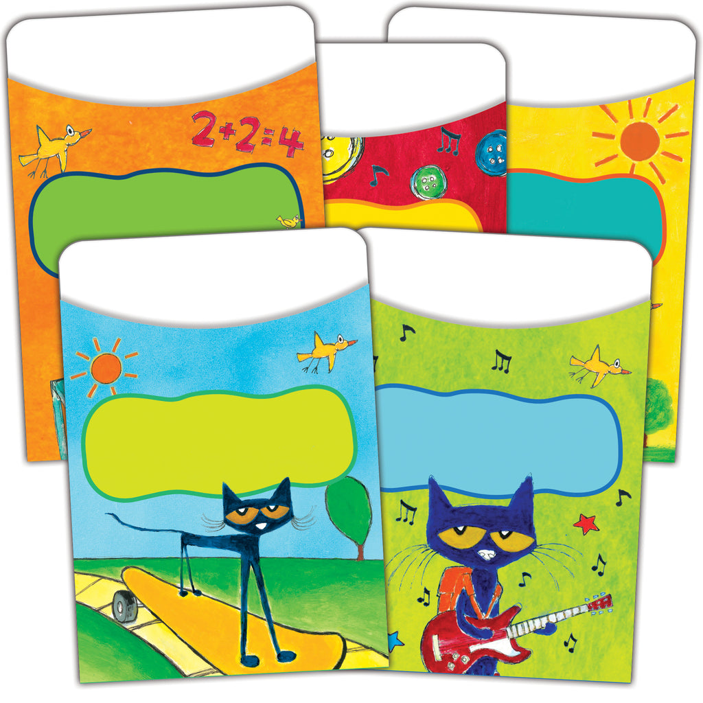 PETE THE CAT LIBRARY POCKETS