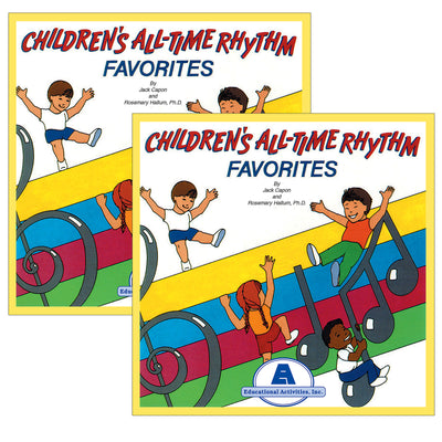 (2 Ea) Childrens All-time Rhythm Favorites